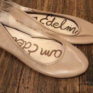 Sam Edelman Tan Flats